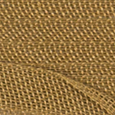 Cotton Tape for Embroidery in Ochre