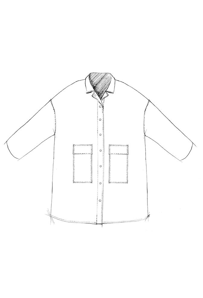 The school of making car coat pattern 1