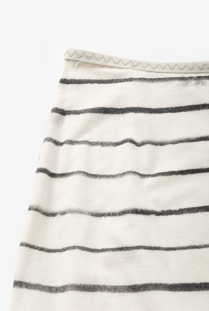 Faded stripe pencil skirt the school of making kit