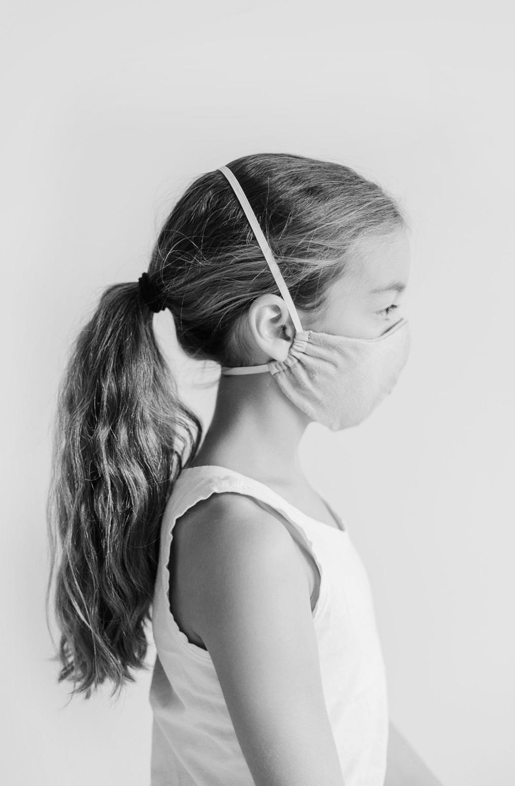 Alabama chanin  organic cotton  childrens reusable face mask  durable  washable