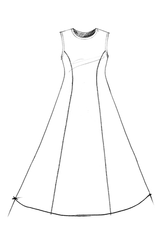The school of making factory dress pattern 2