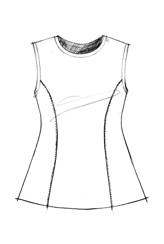 The school of making factory dress pattern 4