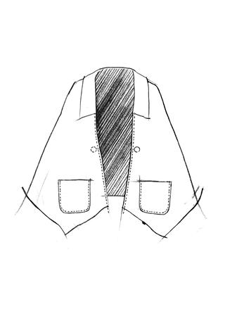 The school of making walking cape pattern 1
