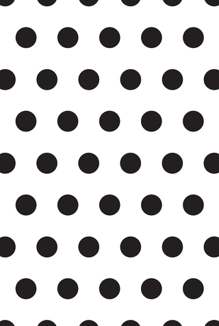 Large Polka Dot Stencil