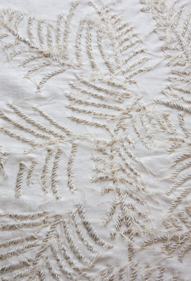 The school of making fern stencil 2
