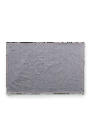 Alabama chanin top stitch organic cotton placemat 2