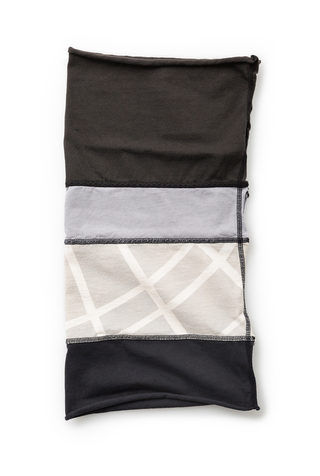 Alabama chanin jersey colorblock napkins 6