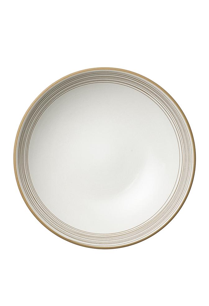 Heath ceramics alabama chanin birds nest etched shallow salad bowl 2