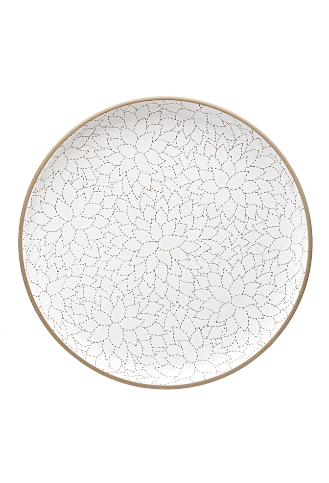 Heath ceramics alabama chanin camellia etched serving platter 1