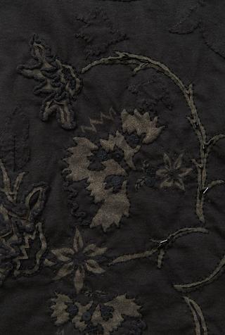 Antheia skirt   pencil skirt   flora   vida   black   25932   abraham rowe 3