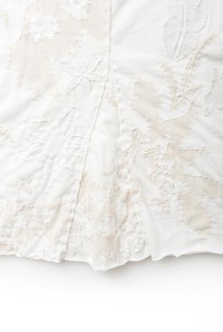 Alabama chanin hand embroidered pencil skirt 2
