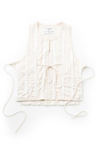 Alabama chanin embroidered womens smock1