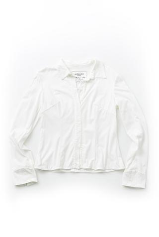 Alabama chanin tailored cotton shirt1