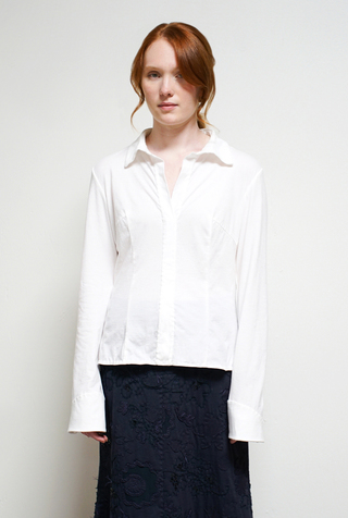 Alabama chanin tailored cotton shirt6