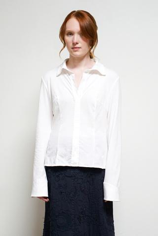 Alabama chanin tailored cotton shirt6