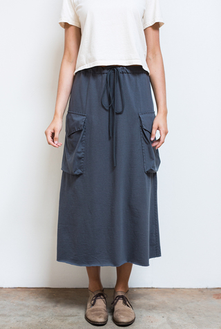 The school of making relaxed drawstring pant skirt sewing pattern 2