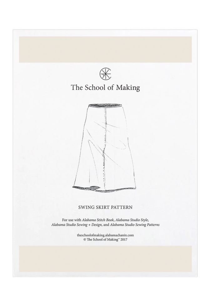 Swing Skirt Pattern The School Of Making Alabama Chanin