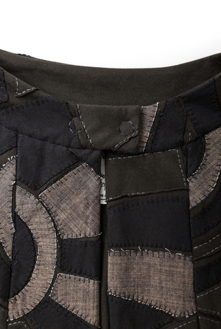 Alabama chanin luxury fashion womens cape 5