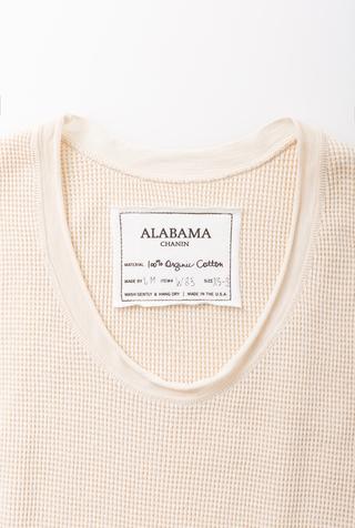 Alabama chanin waffle drape racertank 5