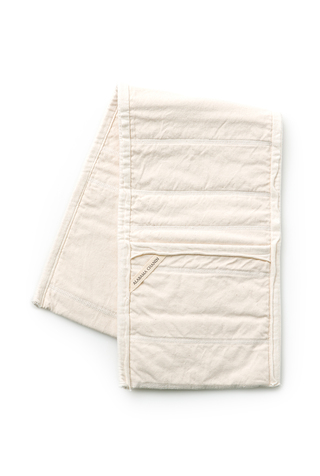 Alabama chanin organic canvas double oven mitt 2