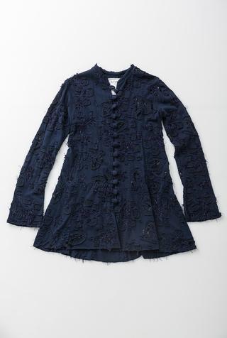 Sample Sale: #15482: X-Small Daisy Coat