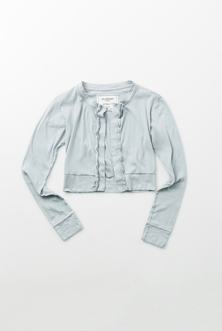 X Discontinued: The Crop Cardigan