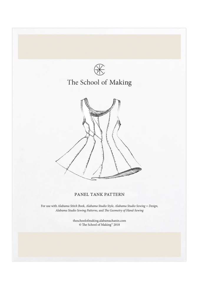 The school of making panel tank pattern 11