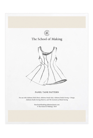 The school of making panel tank pattern 11