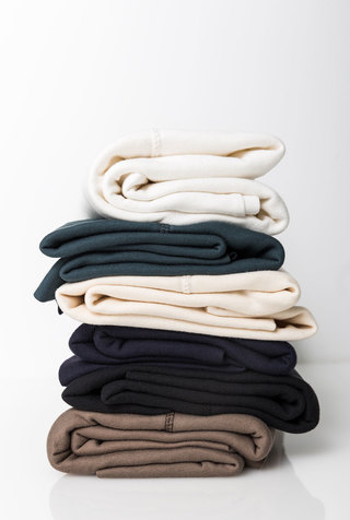Alabama chanin organic cotton rib fabric