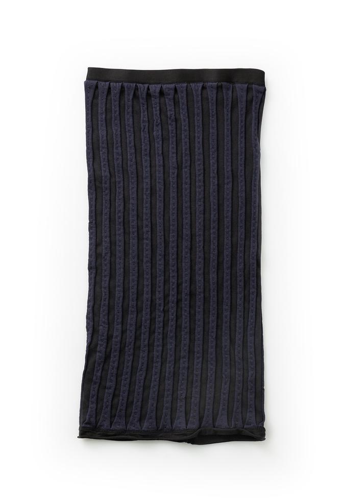 Alabama chanin striped womens pencil skirt 1