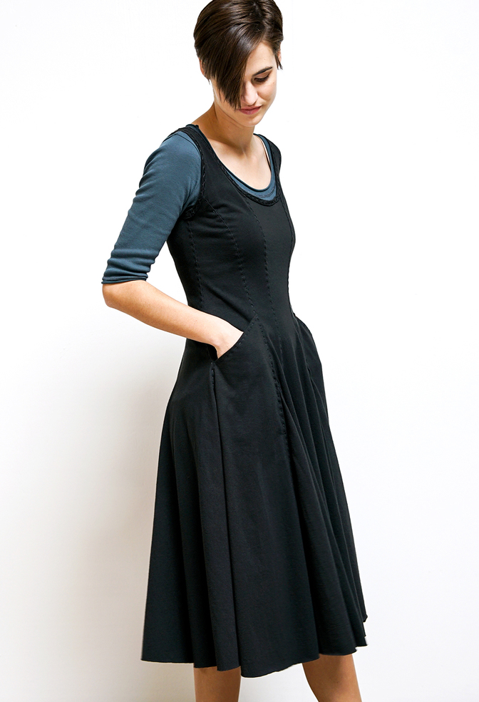 Alabama chanin womens corset dress 2