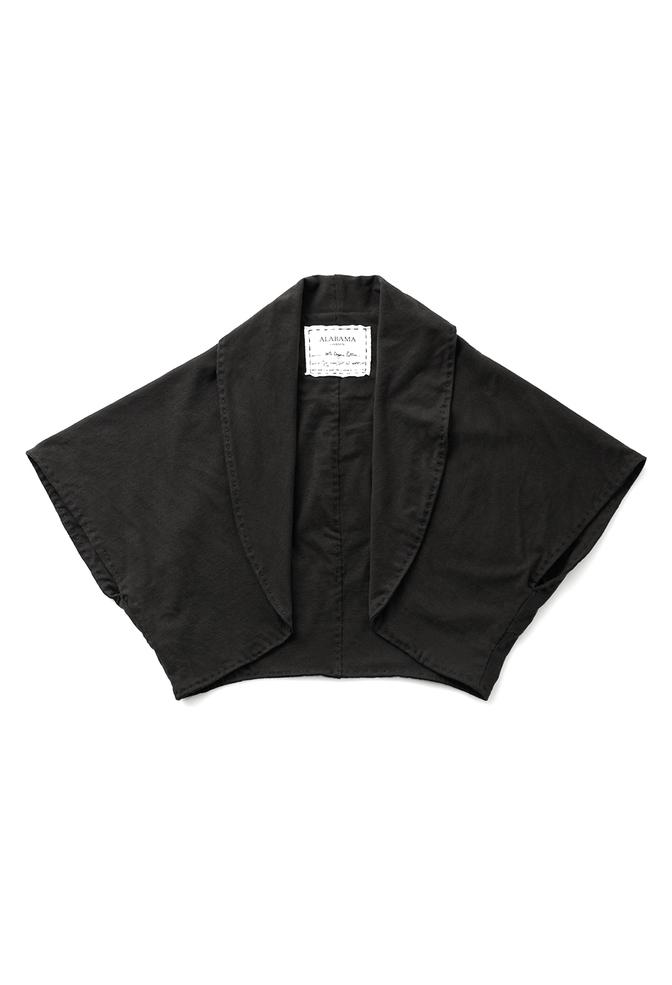 Alabama chanin handsewn cotton shawl 6