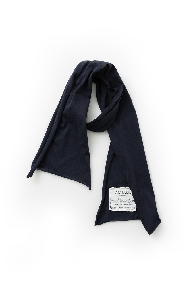 Alabama chanin organic cotton slim scarf 7
