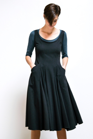 Alabama chanin womens corset dress 1