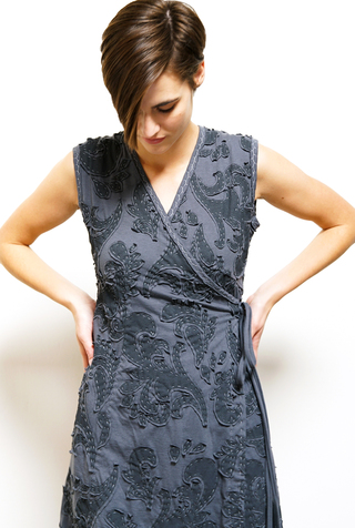 Aurora Wrap Dress DIY Kit