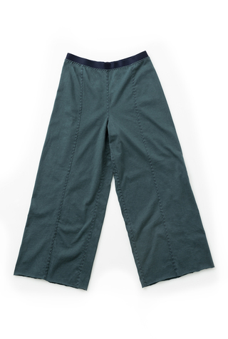 Alabama chanin wide leg organic cotton pant 4