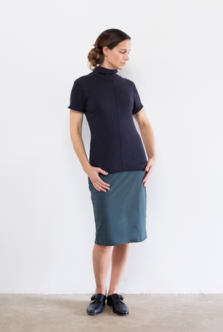 Alabama chanin handsewn pencil skirt 2