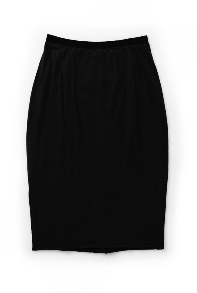 Alabama chanin handsewn pencil skirt 3