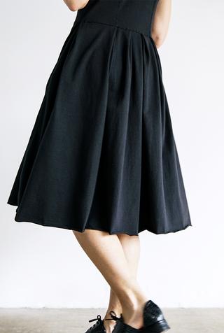 Alabama chanin womens pleated skirt dress 5