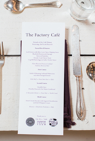 The Factory Café Supper Club: December 2018