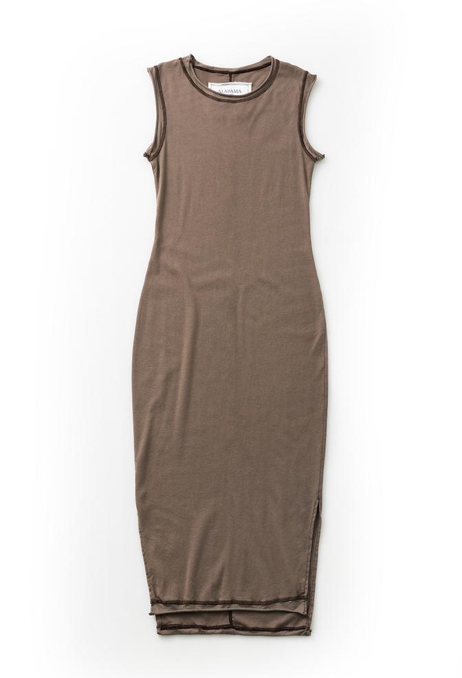 Alabama chanin womens fitted cotton dress 1