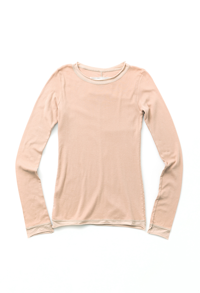 Alabama chanin rib crew neck top 7