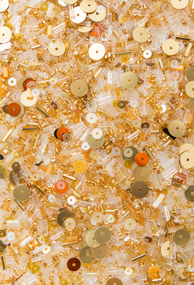 The school of making bead mix gold bomb 1