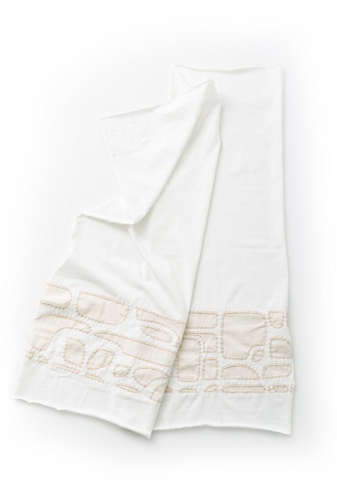Alabama chanin organic cotton baby blanket 1