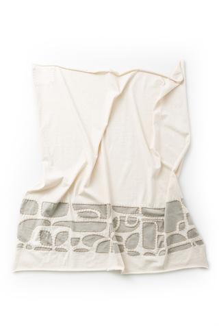 Alabama chanin organic cotton baby blanket 2