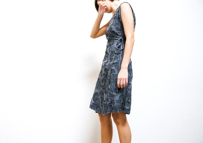Aurora Wrap Dress DIY Kit