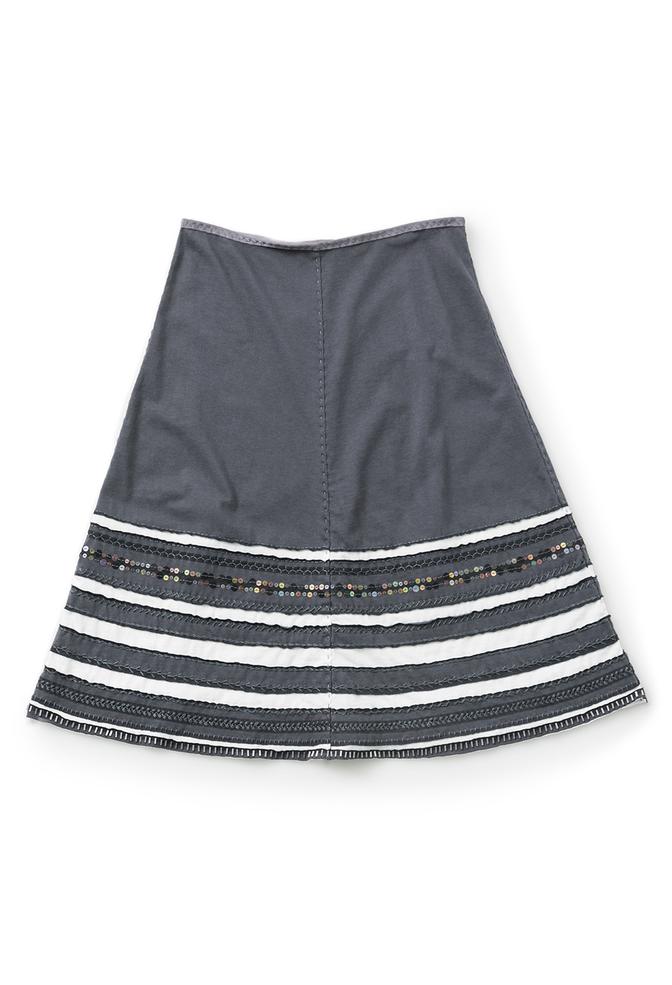 The school of making striped swing skirt diy kit 1