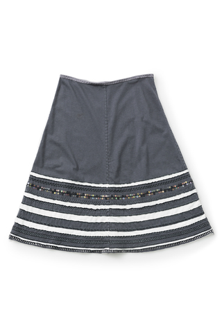 The school of making striped swing skirt diy kit 1