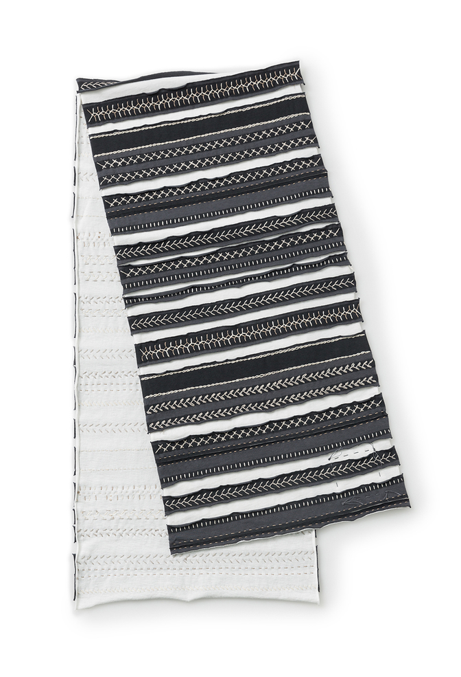 The school of making striped table runner diy kit 1