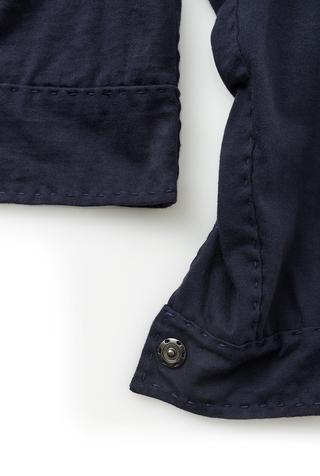 Alabama chanin cotton women s embroidered jacket 3